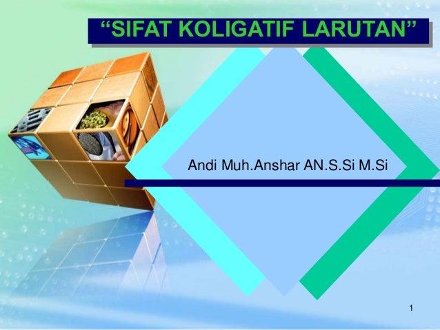 Chemis sifat koligatif larutan andi muhshar an ccuart Images
