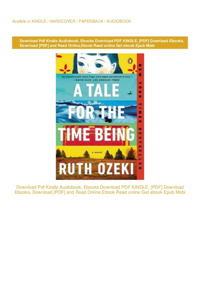 a tale for the time being pdf free
