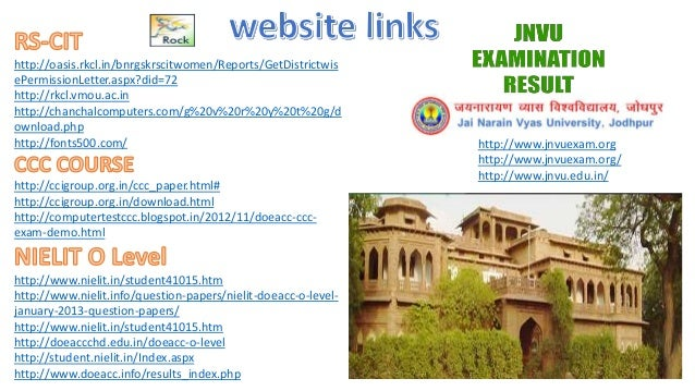 http://oasis.rkcl.in/bnrgskrscitwomen/Reports/GetDistrictwis ePermissionLetter.aspx?did=72 http://rkcl.vmou.ac.in http://c...