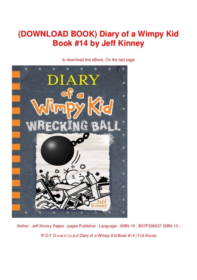 Download Book Diary Of A Wimpy Kid Book 14 By Jeff Kinney