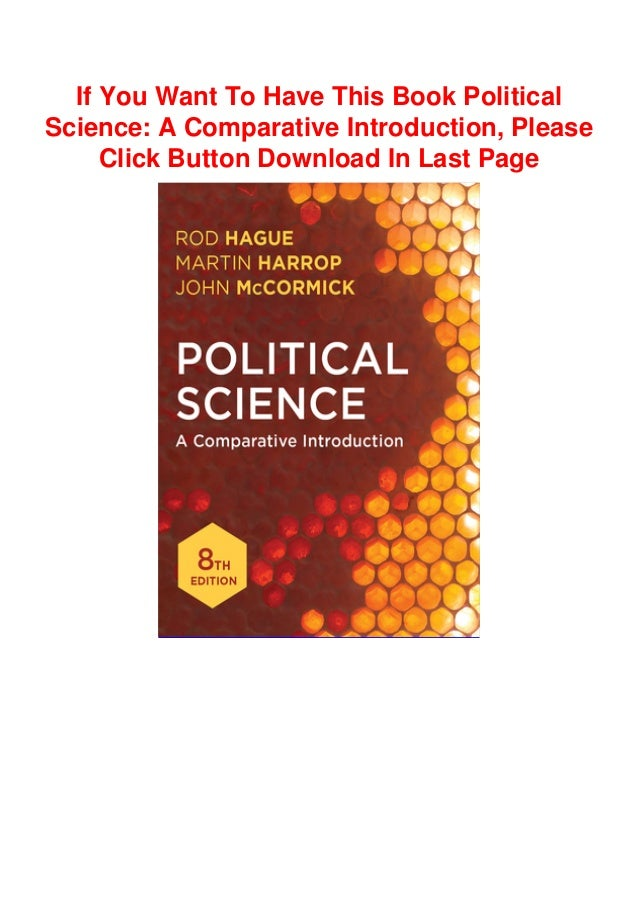 Download Books Political Science A Comparative Introduction