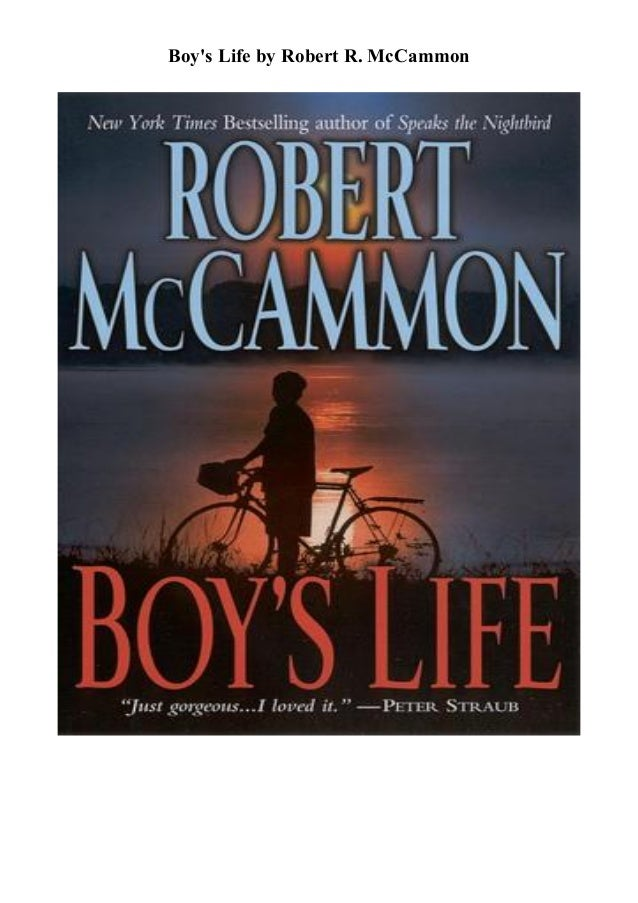 Download Boys Life By Robert R Mccammon