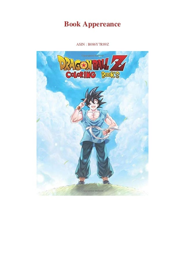 DOWNLOAD] Dragon Ball Z Coloring Book 55+ Premium Coloring Pages Fo…