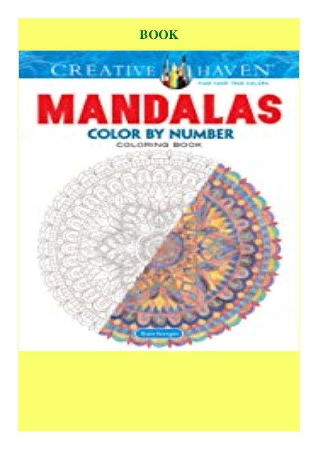 Download Ebook Creative Haven Mandalas Color By Number Coloring Book …