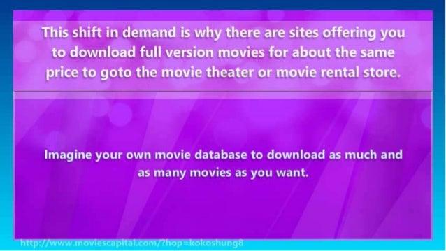 Download Full Version Movies - watch movies online