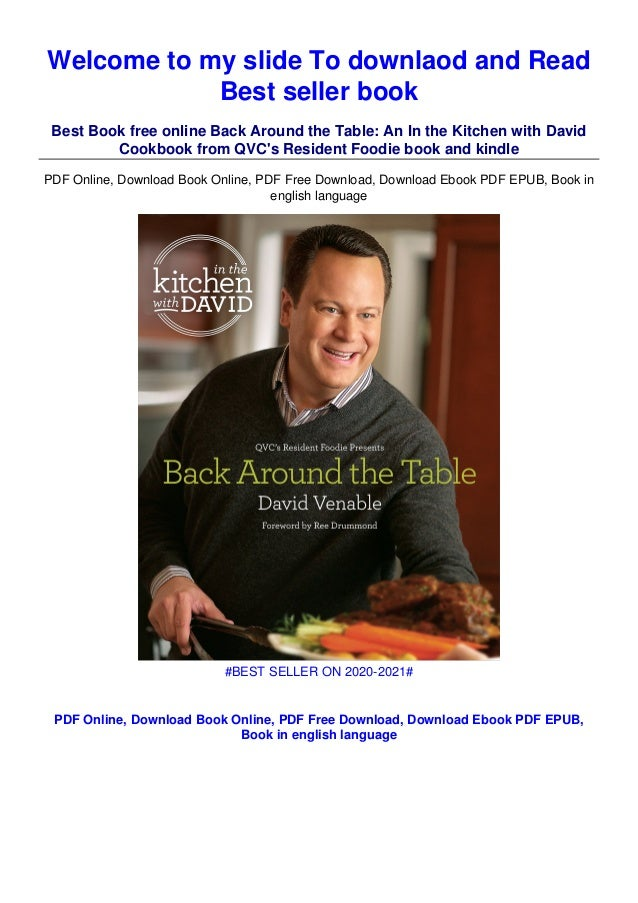 Download In Pdf Back Around The Table An In The Kitchen With Dav