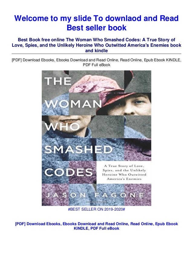 The Woman Who Smashed Codes PDF Free Download