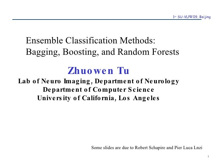Zhuowen Tu Lab of Neuro Imaging, Department of Neurology Department of Computer Science University of California, Los Ange...