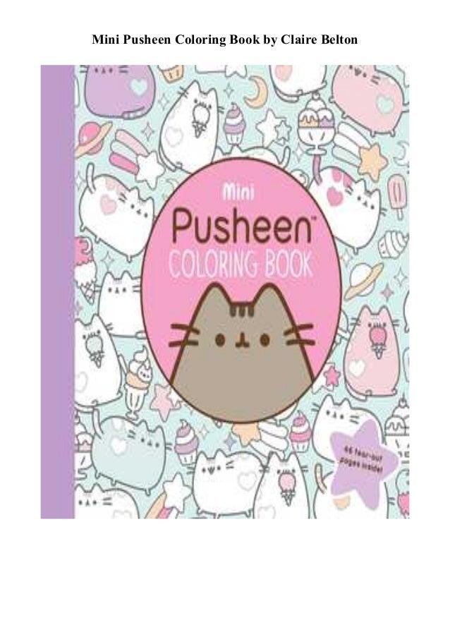 DOWNLOAD Mini Pusheen Coloring Book PDF Full