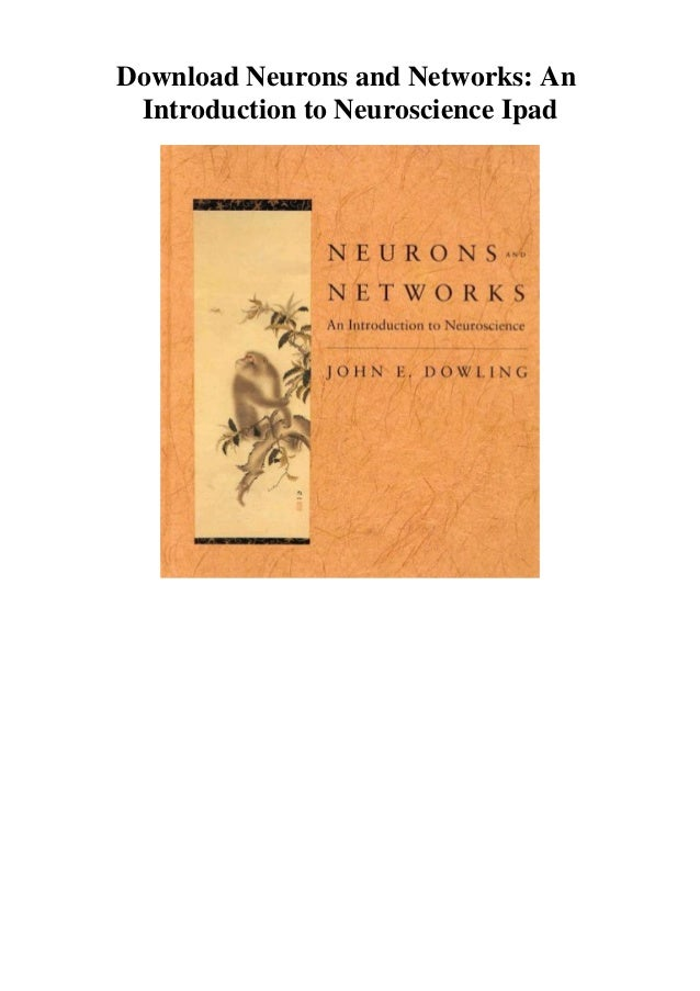 if you want to download or read Neurons and Networks: An Introduction to Neuroscience, click button download