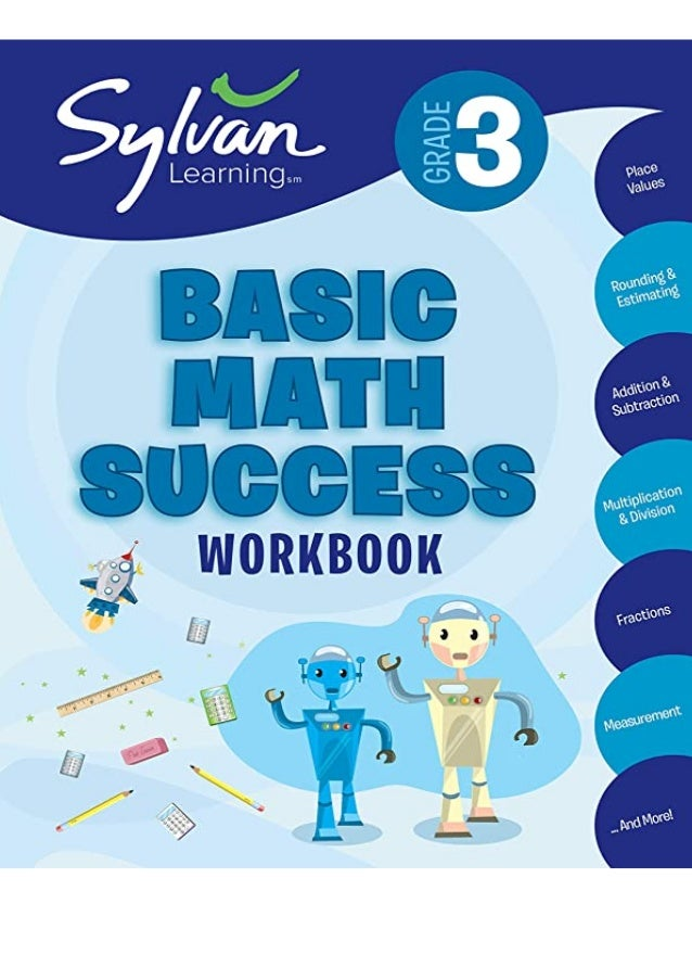 Download (PDF) 3rd Grade Basic Math Success Workbook: Activities, Exercises, and Tips to Help Catch Up, Keep Up, and Get A...
