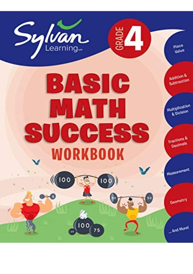 Download (PDF) 4th Grade Basic Math Success Workbook: Activities, Exercises, and Tips to Help Catch Up, Keep Up, and Get A...
