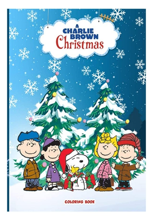 Download PDF Charlie Brown Christmas Coloring Book 50+ Coloring Pages…