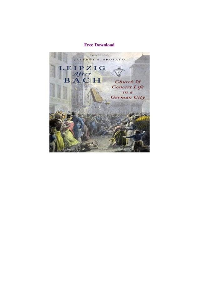 Bach pdf free download