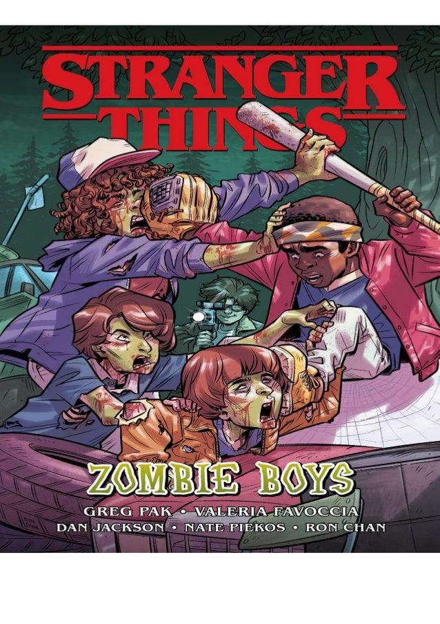 Download Pdf Stranger Things Zombie Boys Graphic Novel