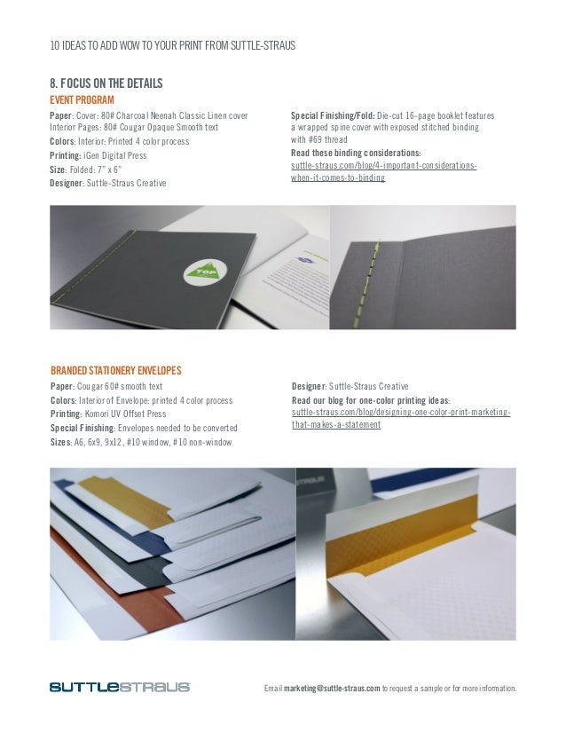 10 Big Ideas to Add Wow to Your Print Envelope Design House Within Hou E A on