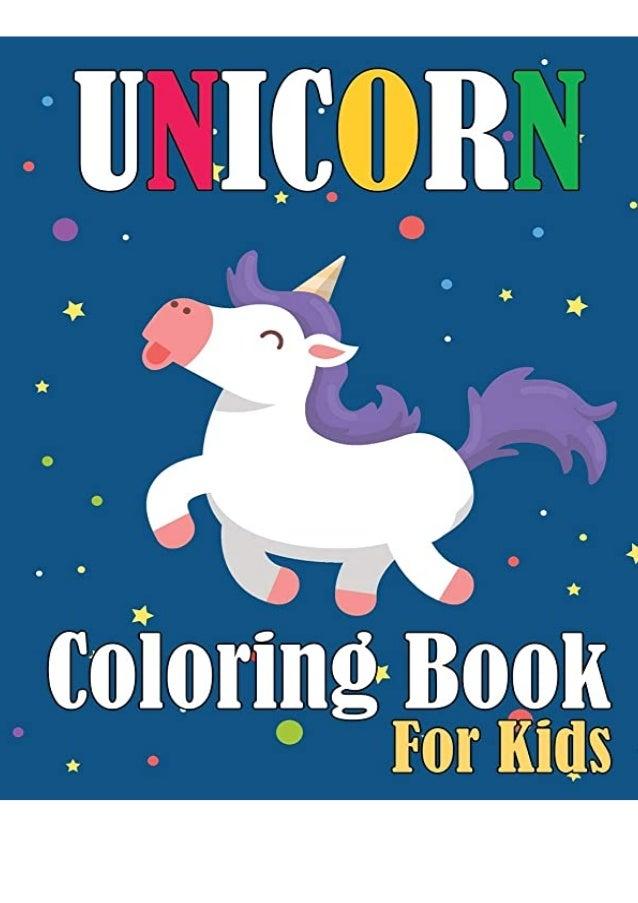 Download Unicorn Coloring Book For Kids Unicorn For Beginners An Unic