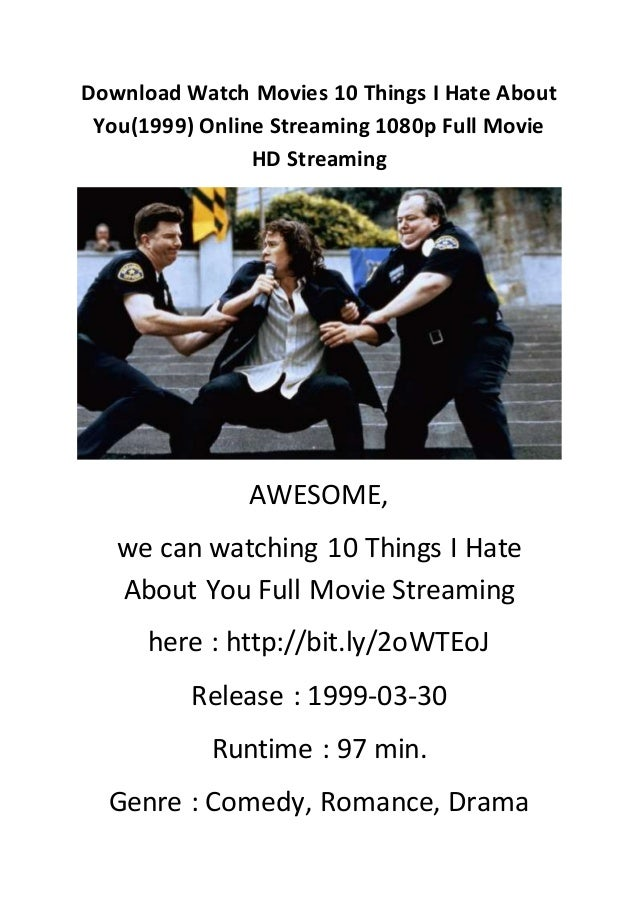 Download Watch Movies 10 Things I Hate About You1999 Online Streaming