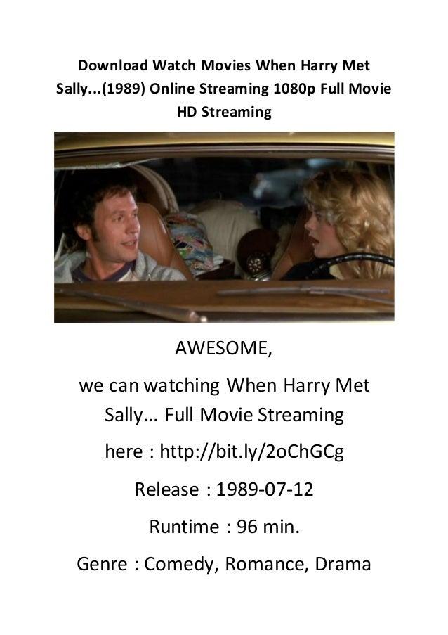 When Harry Met Sally Stream