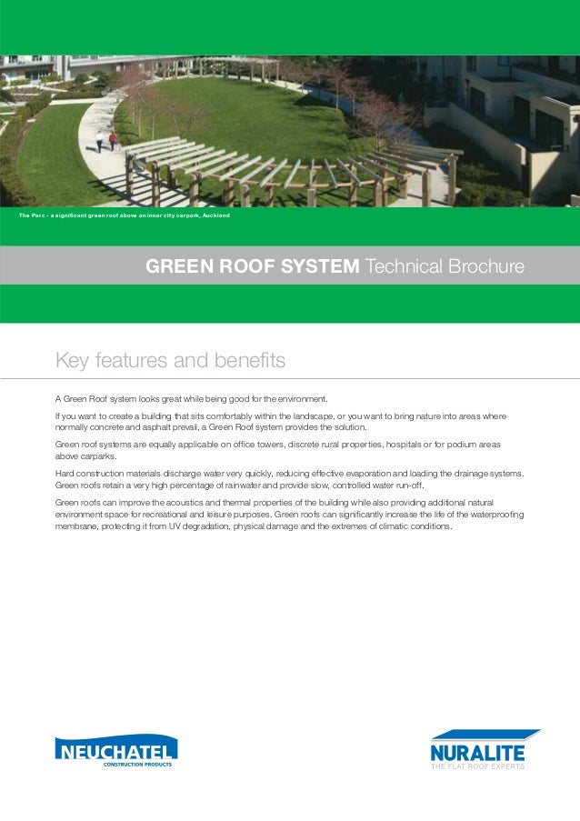The Parc - a significant green roof above an inner city carpark, Auckland                                           GREEN ...