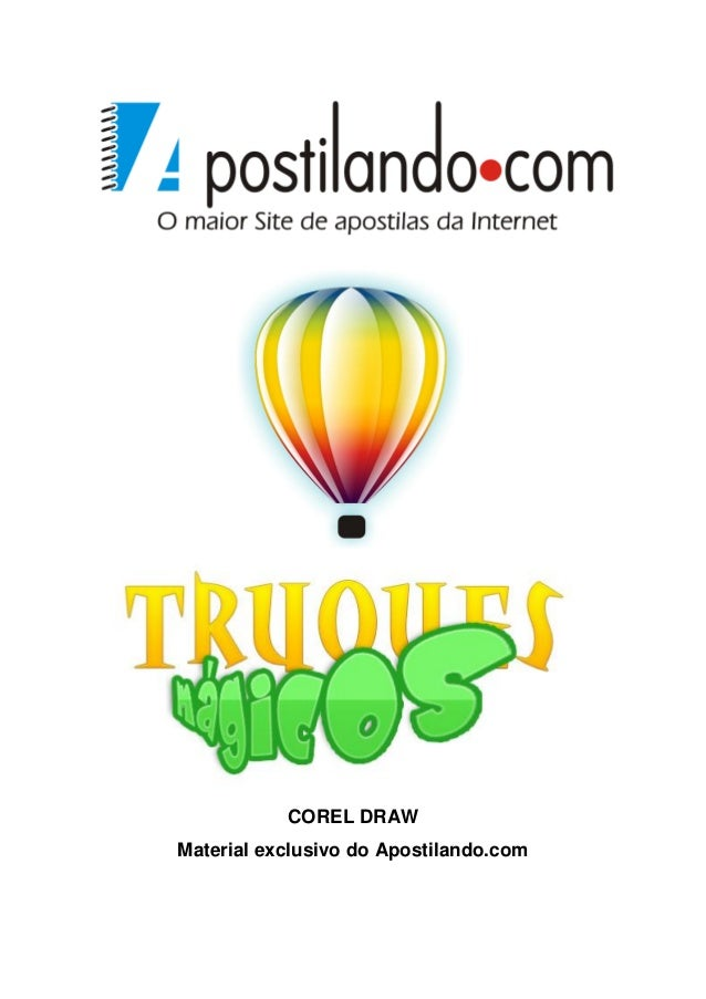 COREL DRAW Material exclusivo do Apostilando.com
