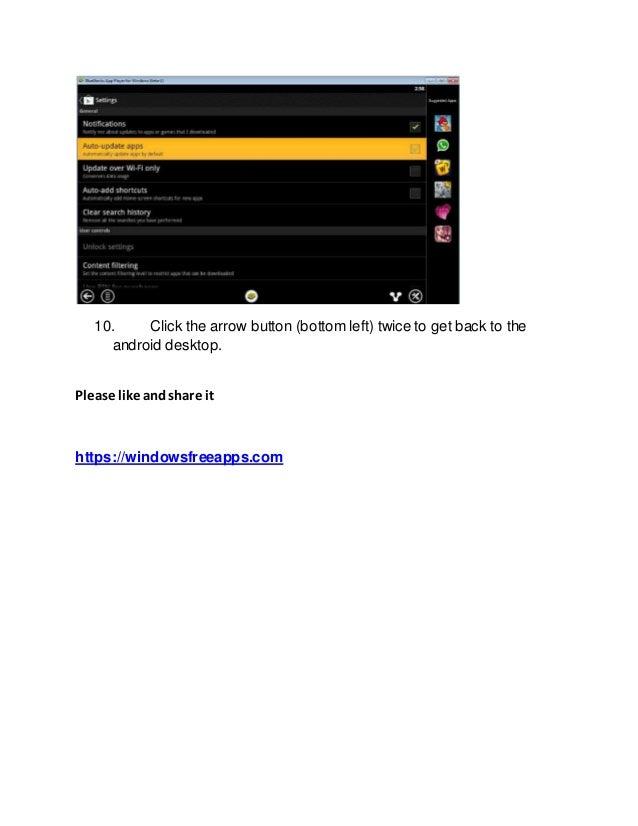Download bluestacks app player for pc
