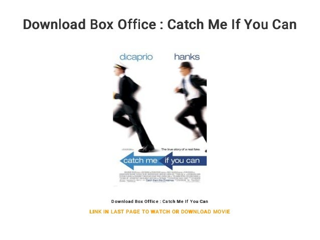 Download Box Office Catch Me If You Can