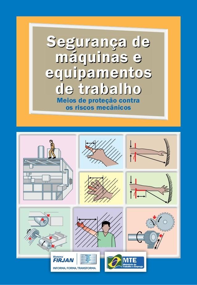 Segurança de máquinas e equipamentos de trabalho Meios de proteção contra os riscos mecânicos