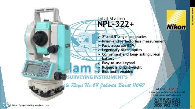 Download Catalog Nikon Positioning - Alam Survey