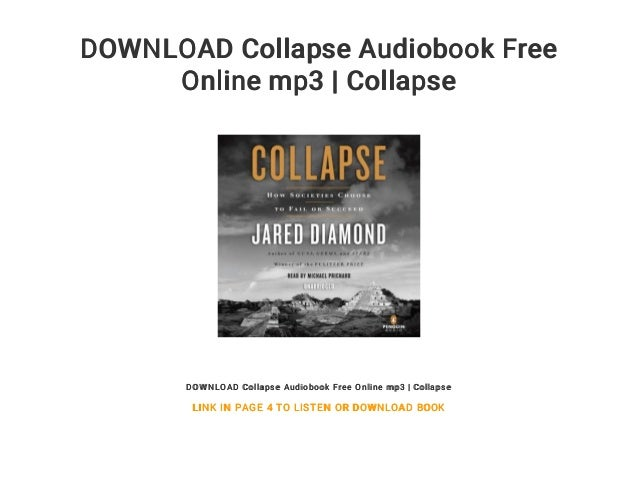 Free collapse audiobook online mp3 download | collapse.