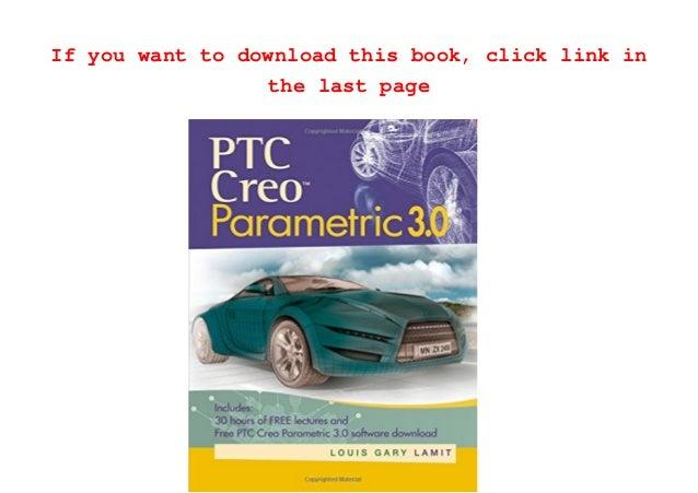 Download [PDF] Creo Parametric 30 Tutorial Free Online