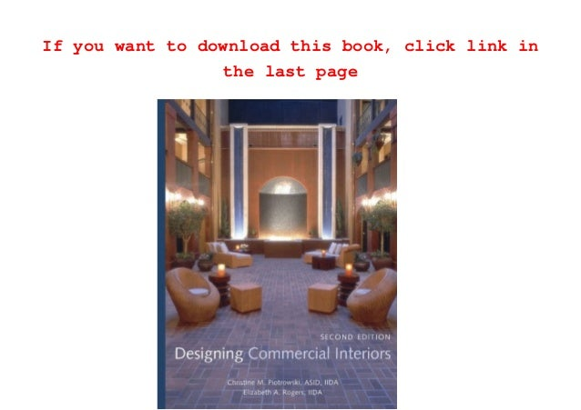 Download Designing Commercial Interiors PDF Full Ebook Free Audible