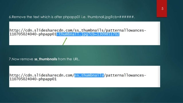 une présentation slideshare protégée