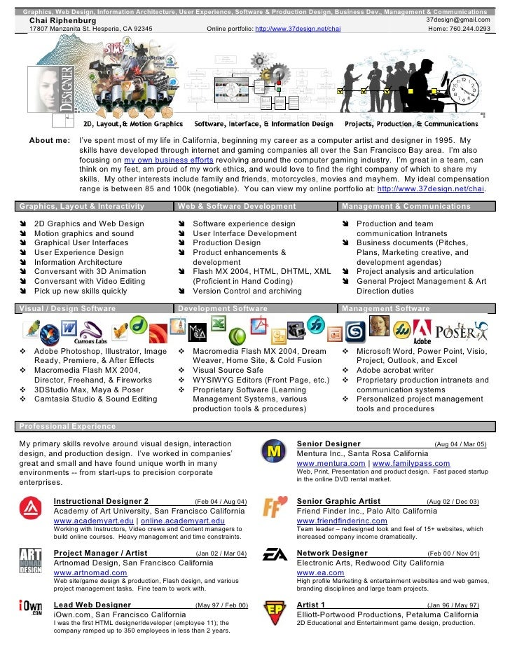 Graphics, Web Design, Information Architecture, User Experience, Software & Production Design, Business Dev., Management &...