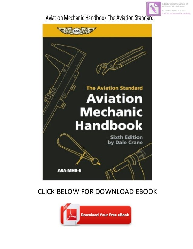 Aircraft Handbooks & Manuals