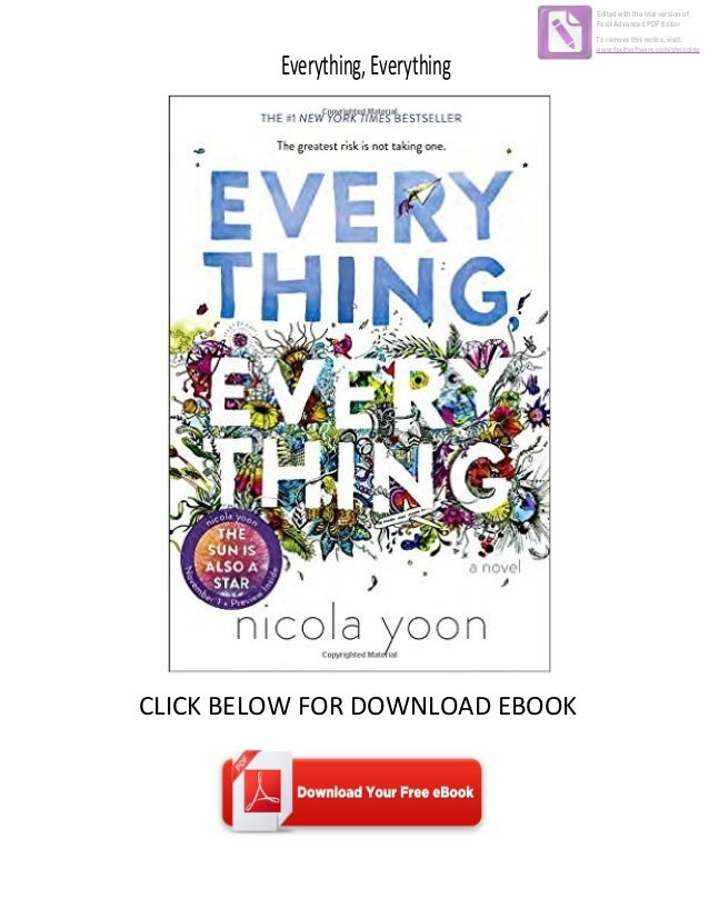 Download Ebook Everything Everything