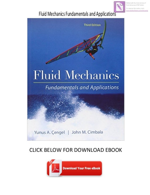 Advanced Fluid Mechanics Ebook