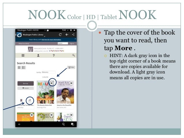 how to download ebook from nook