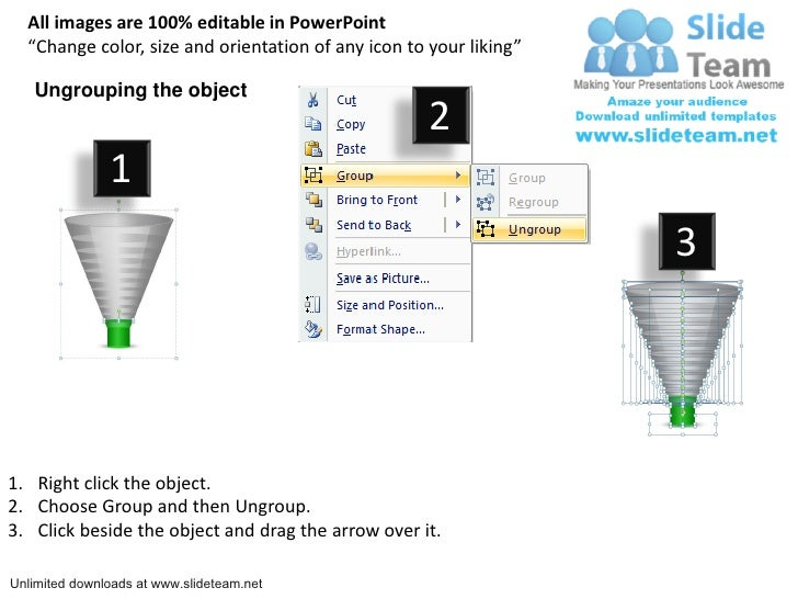 download editable sales funnel power point slides and ppt diagram tem…, Modern powerpoint