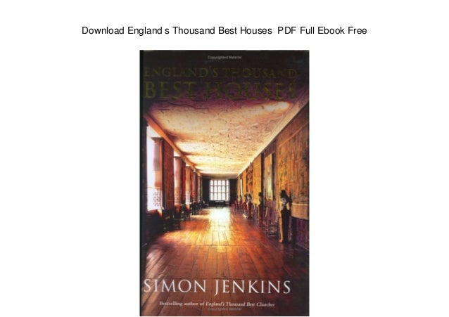 Download England s Thousand Best Houses PDF Full Ebook Free