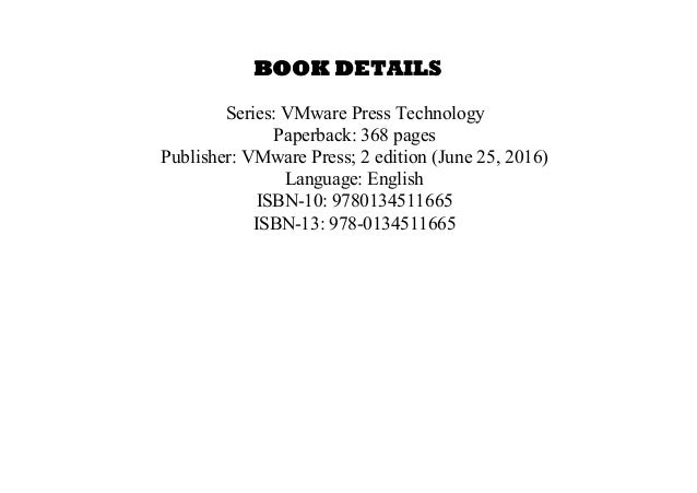 essential virtual san vsan 2nd edition pdf free download