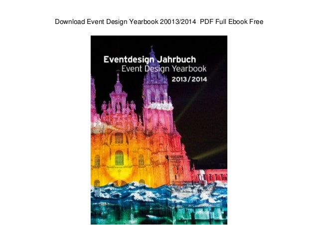 Download Event Design Yearbook 20013/2014 PDF Full Ebook Free