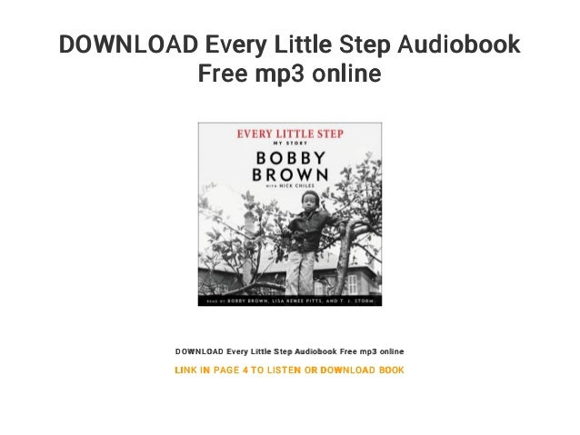 bobby brown every little step free mp3 download
