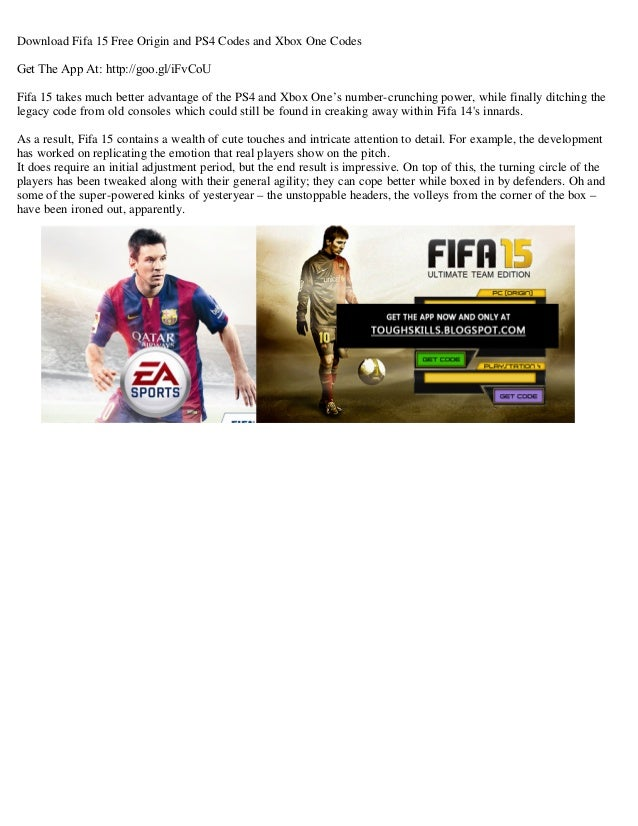 fifa 15 without origin download