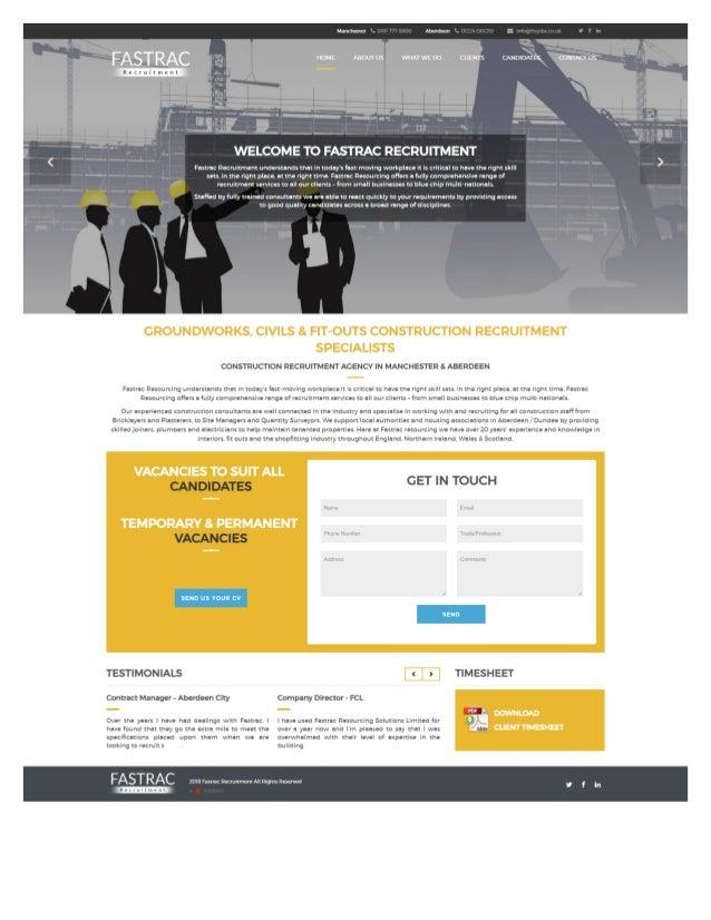 Recruitment Website Design Web Portfolio Our Work Diginow Co Uk