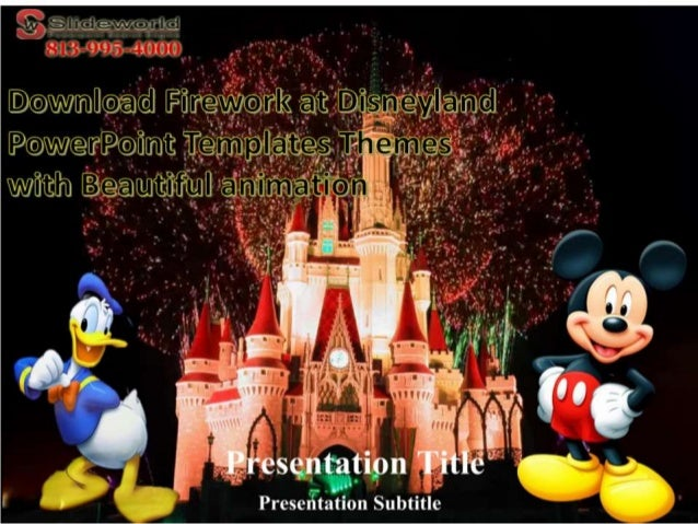 Download firework at disneyland powerpoint templates themes with beau toneelgroepblik Choice Image