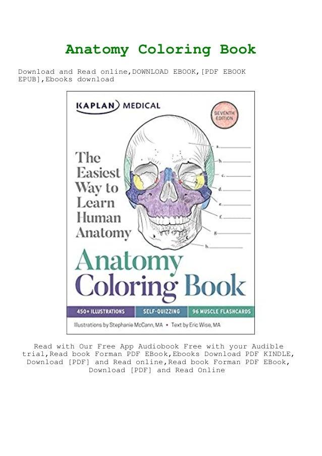DOWNLOAD FREE Anatomy Coloring Book ^DOWNLOAD E.B.O.O.K.#