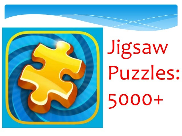 Download Free Jigsaw Puzzle 5000+ App on Androids!
