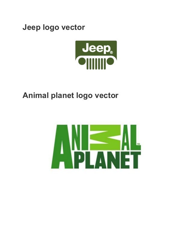 jeep logo vector. jeep logo vector animal planet