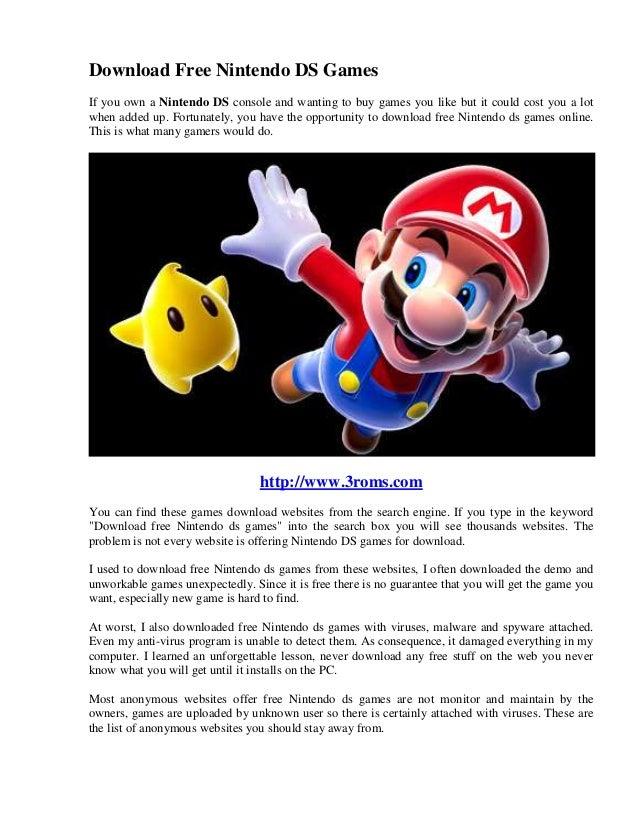 Websites for r4 game downloads.